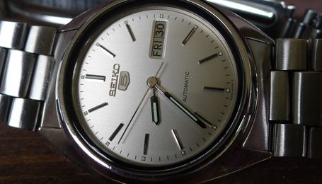 Zegarek seiko 5 automatic